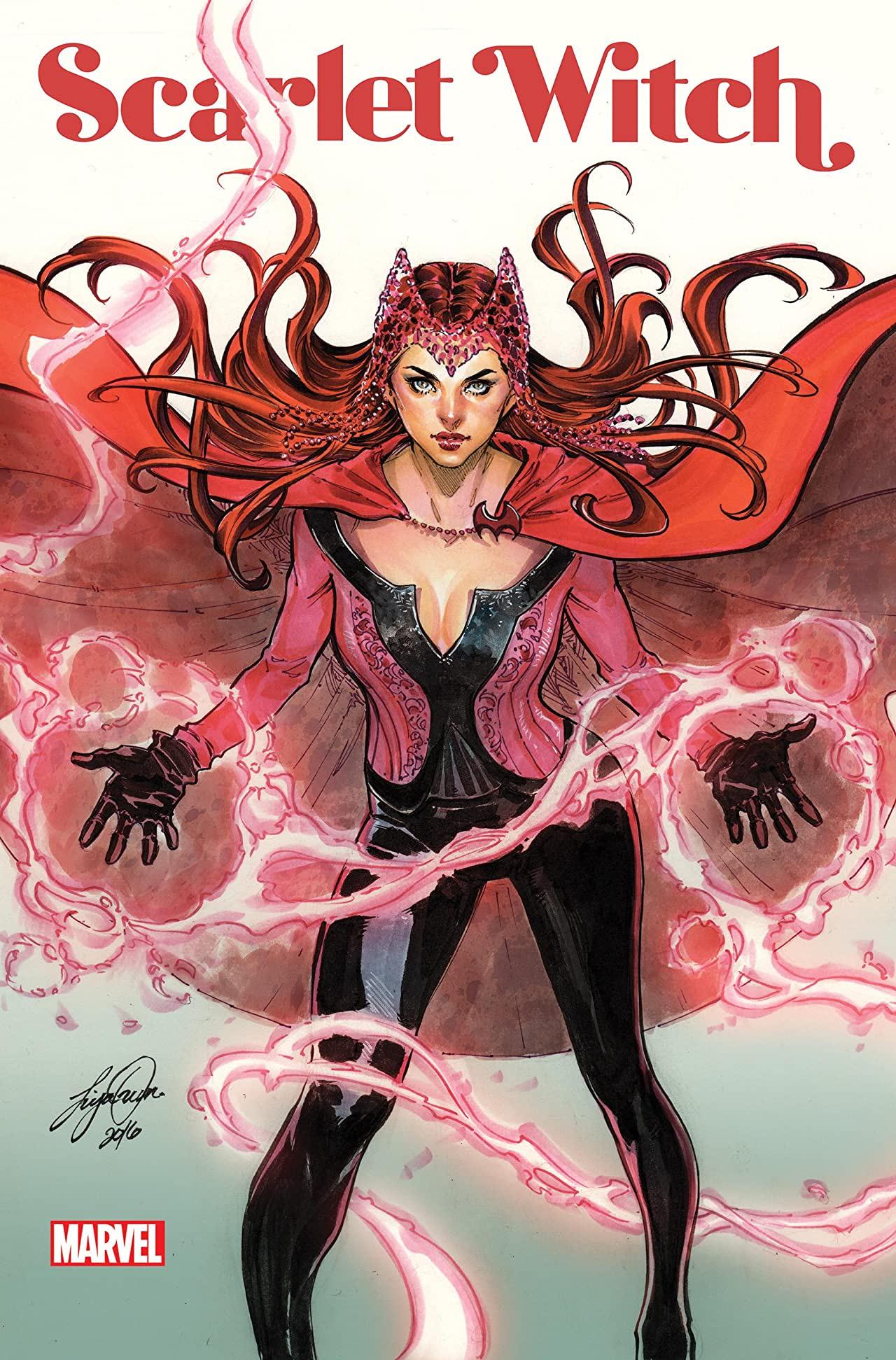 Scarlet Witch (James Robinson) - okładki