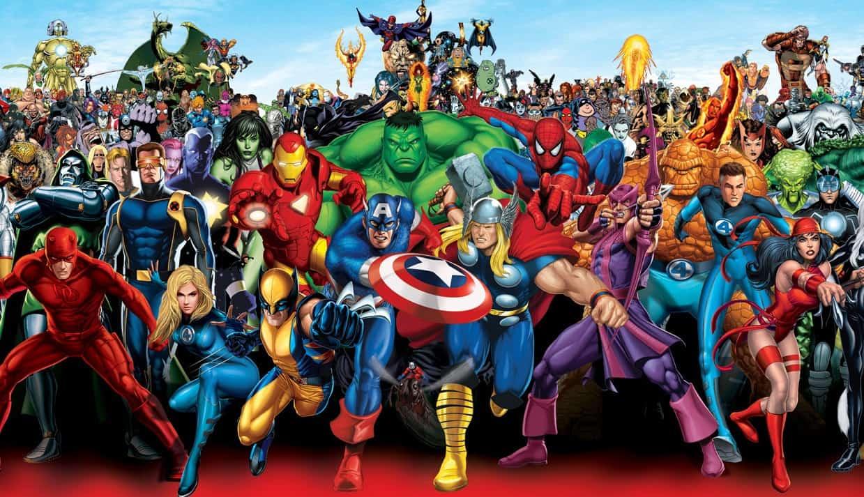 Marvel: 5. Francja (90 500 miesięcznych wyszukiwań w Google)