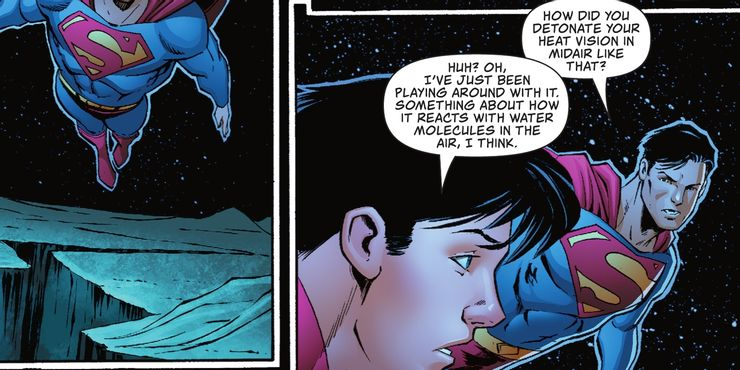 Superman #31 - plansze