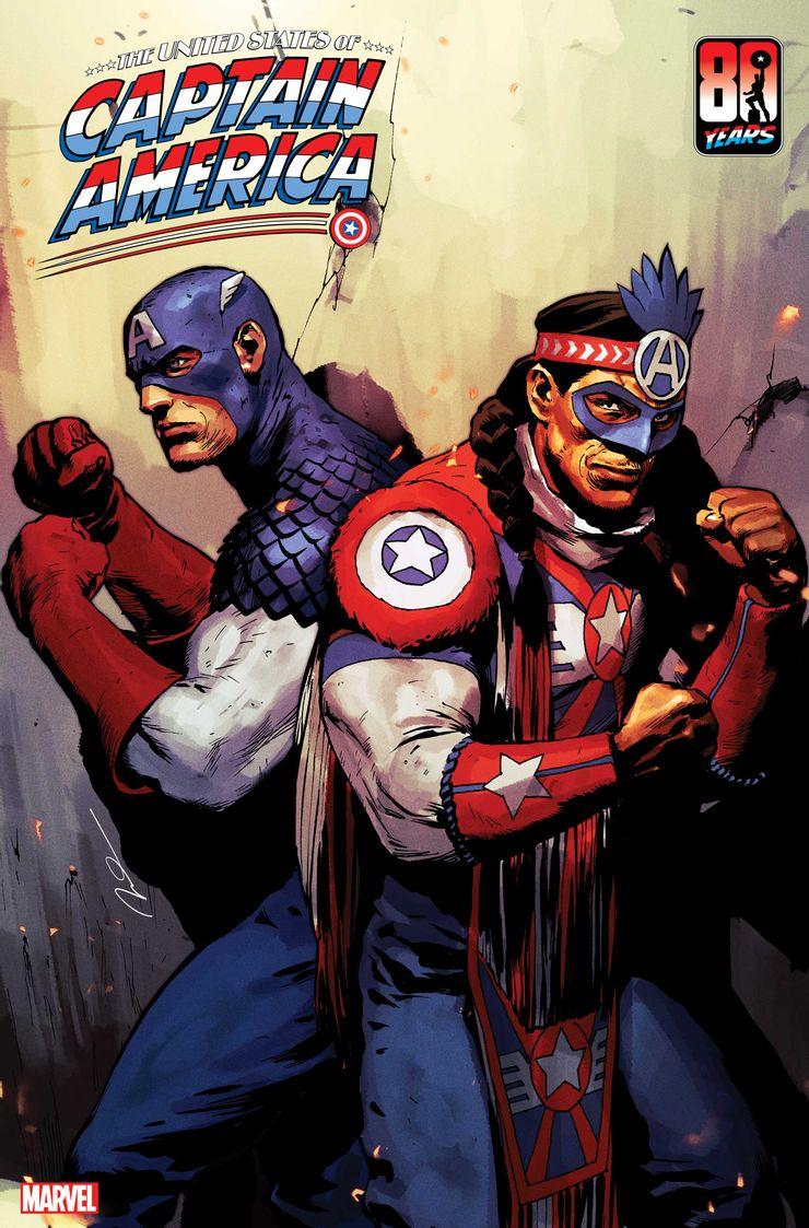 The United States of Captain America #3 - okładka