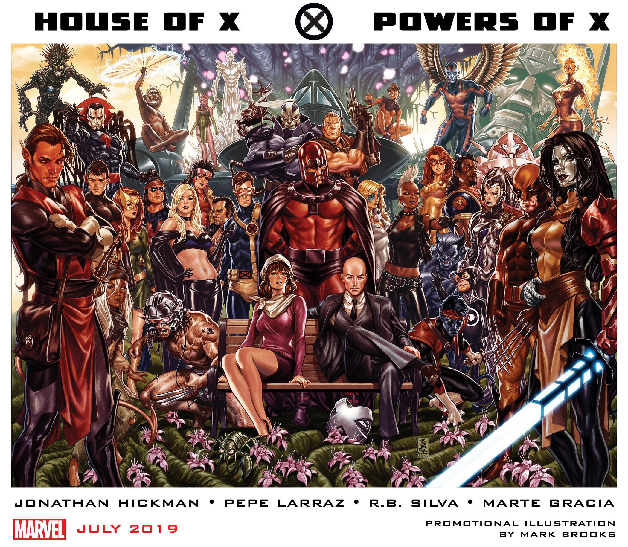 Marvel Fresh - najlepsze komiksy i eventy, które ukazał się w USA: House of X/Powers of X