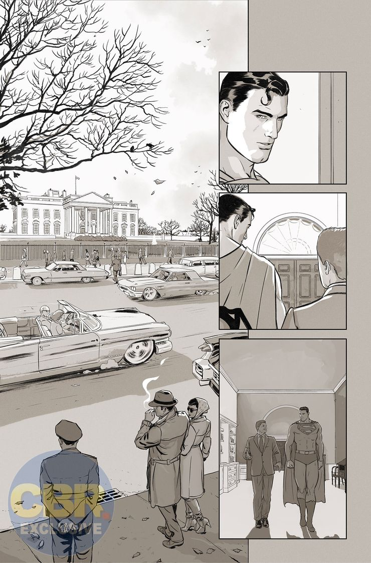 Superman and the Authority #1 - plansze