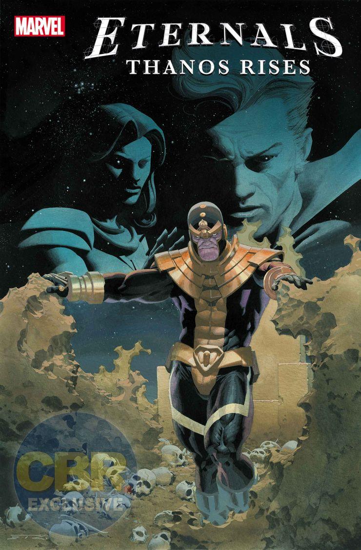 Eternals: Thanos Rises #1 - okładka