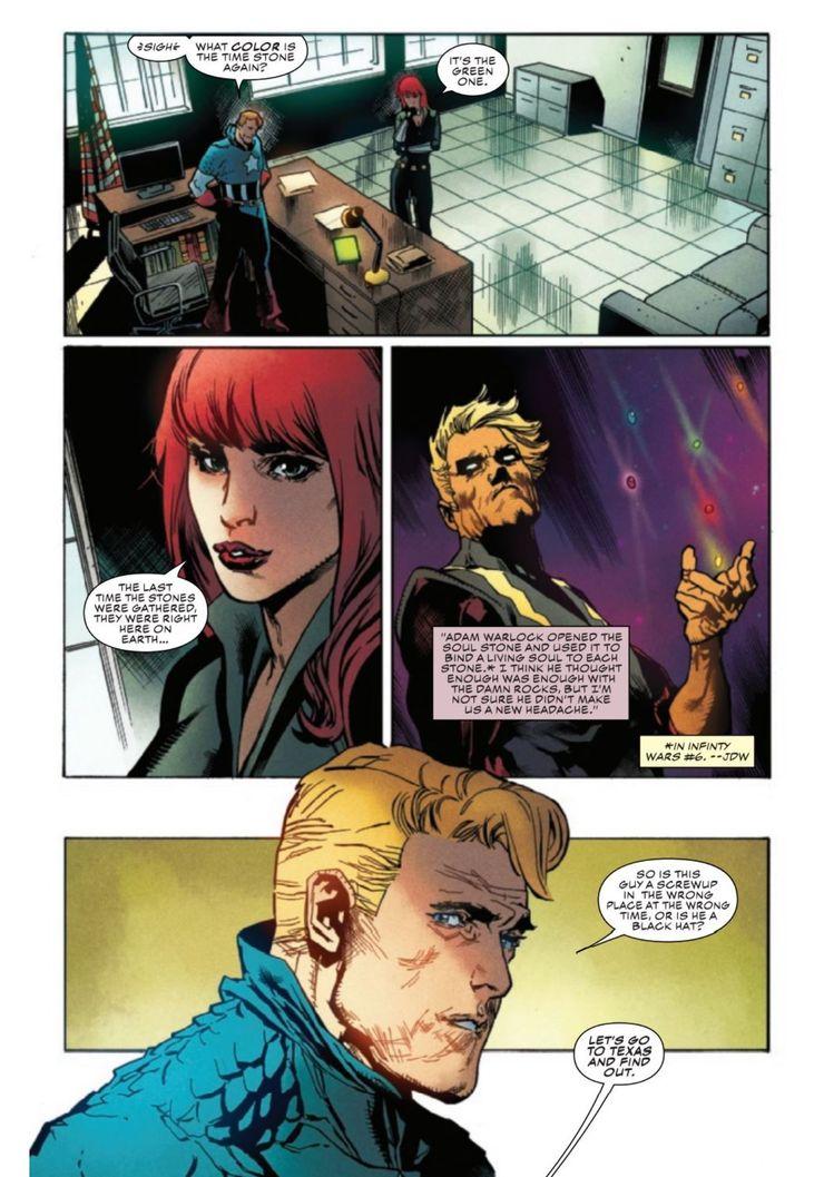 Captain America Annual #1 - plansze
