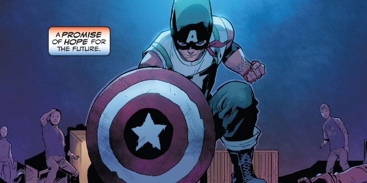 United States of Captain America #1 - plansze