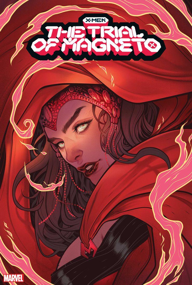The Trial of Magneto #1 - okładki