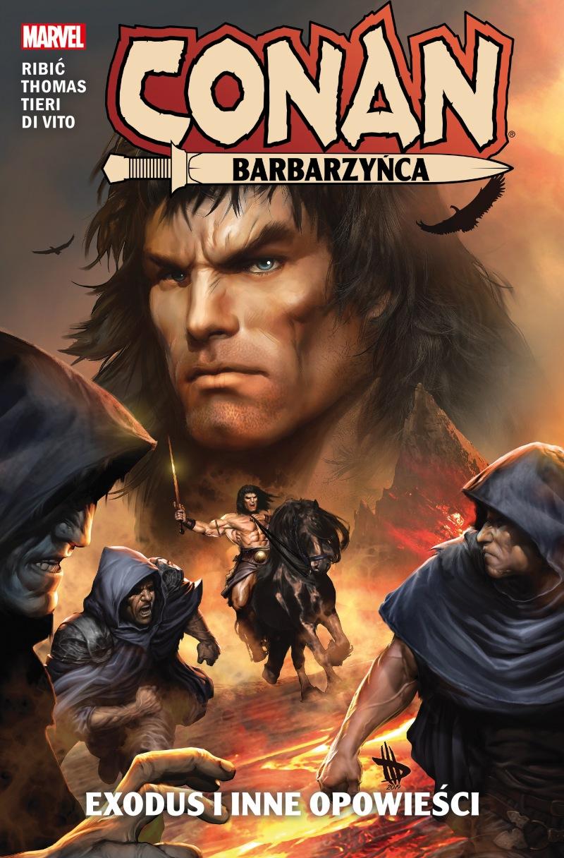 Conan Barbarzyńca. Exodus i inne opowieści - okładka