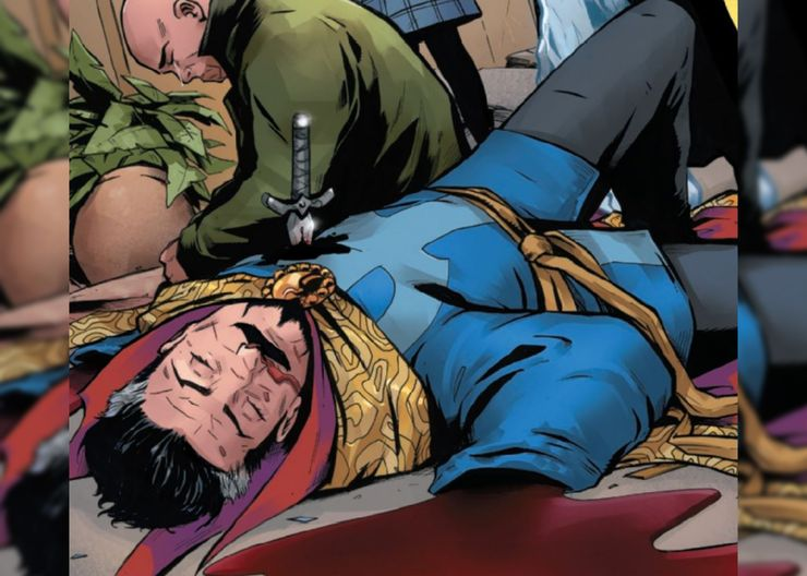 The Death of Doctor Strange #1 - plansze