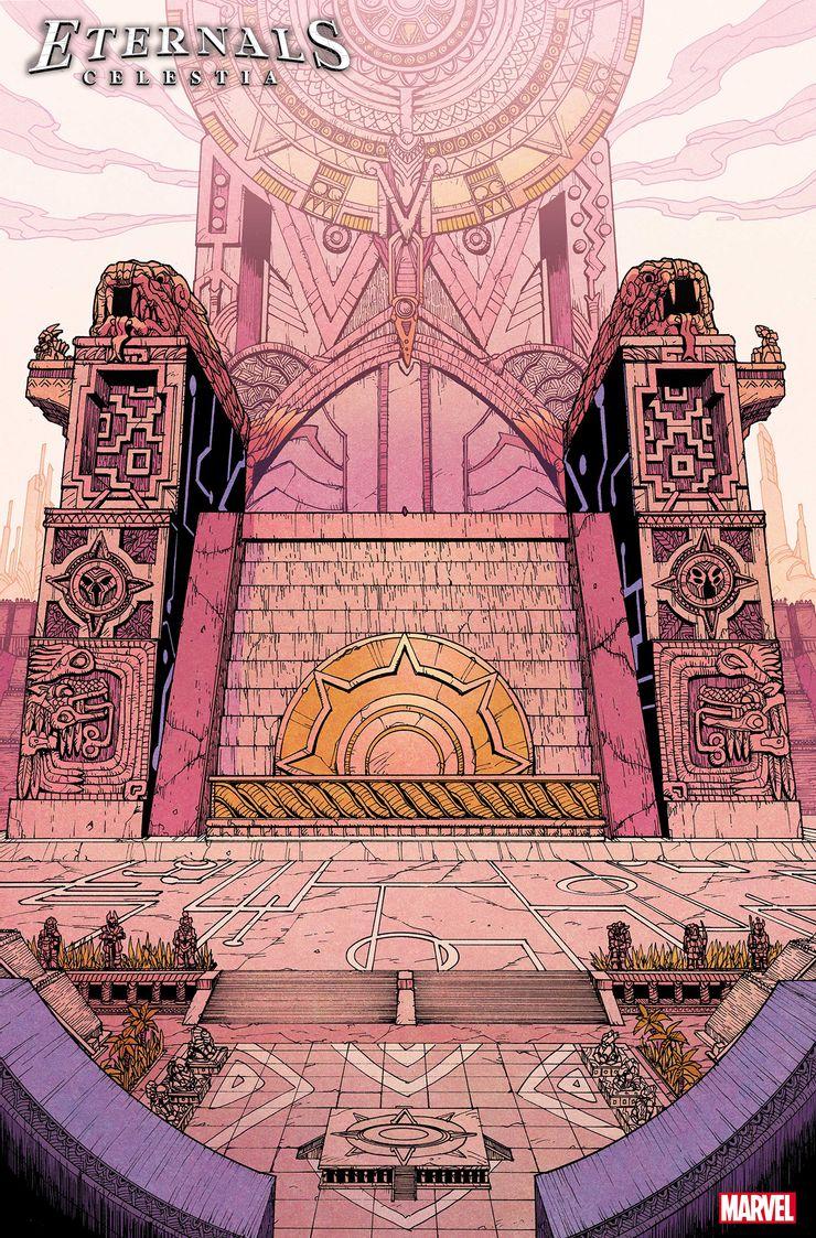 Eternals: Celestia #1 - plansze